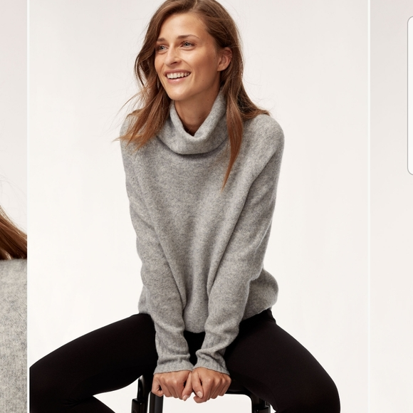 Babaton The Group Aritzia | Plutarch Sweater Grey
